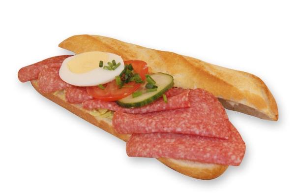 Broodje salami