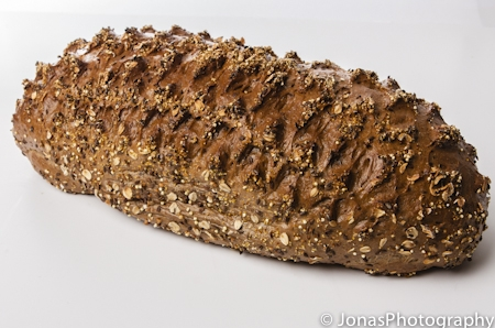Meergranenbrood vloer