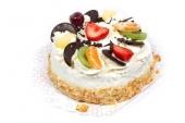Slagroom traktatie taartje