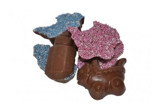 Geboorte chocolade