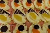 Oranjekoekstuke-crème (4 pers)