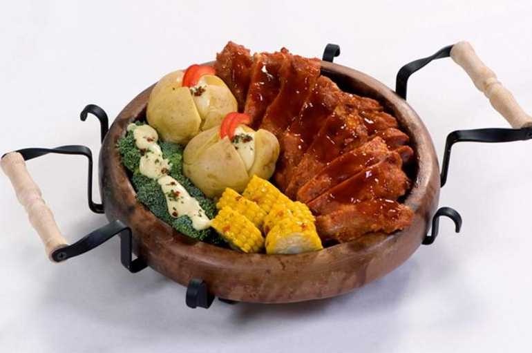Mixed grill smulsteen