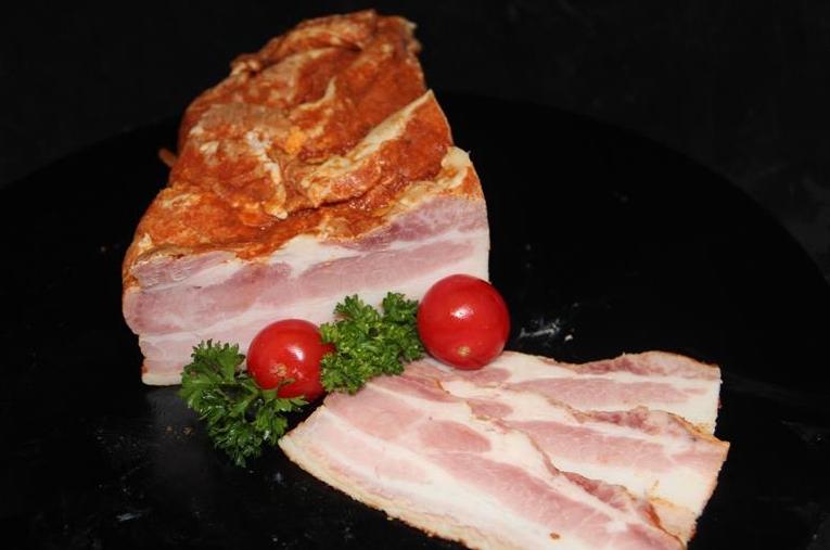 Limburgs gebakken spek
