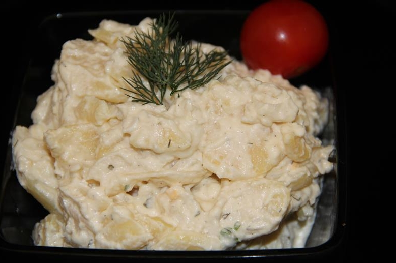 Kartoffel salade met dille