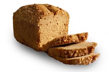 Speculaas cake (gesneden)