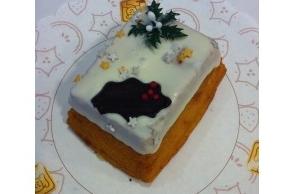 Mini Kerst cake