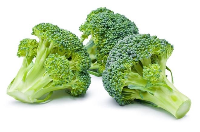 Broccoli pan klaar