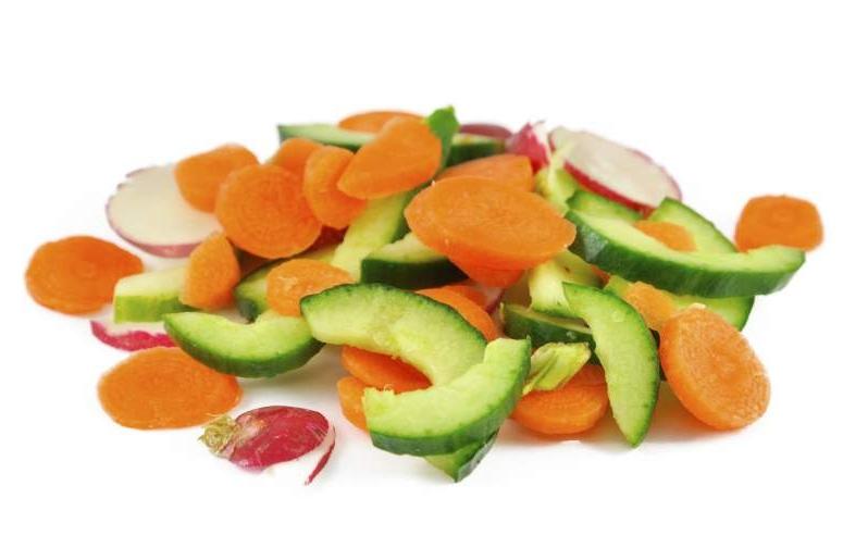 Roerbak mix groenten