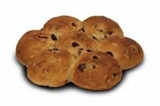BBQ krenten/rozijnen breekbrood