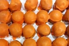 Oranje soesjes