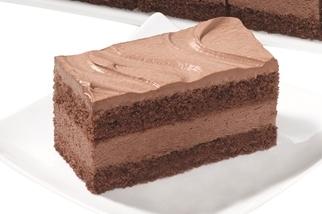 Gluten en lactose vrij chocolade gebakje