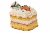 Kinder gebakje slagroomtaart