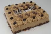 Mokka slagroom taart