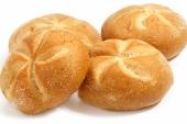 Kaiser broodjes wit sesam