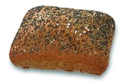 Meergranen broodje vierkant