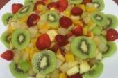 Vers fruitschotel (vanaf 10 personen)