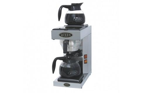 Koffiezetapparaat met 2 glazen kannen (2 x 1,5 liter)