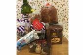 Kerst pakket Frysk op snijplank
