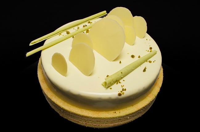 Gateau pistache taart 6-8 pers.