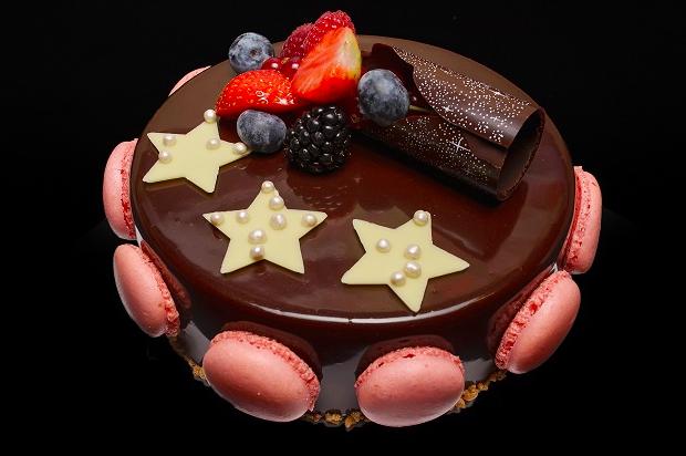 Gateau trois etoiles (chocolade taart) 6-8 pers.