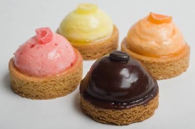 4 Mini gebakjes