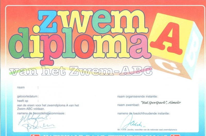 A-diploma Fototaart