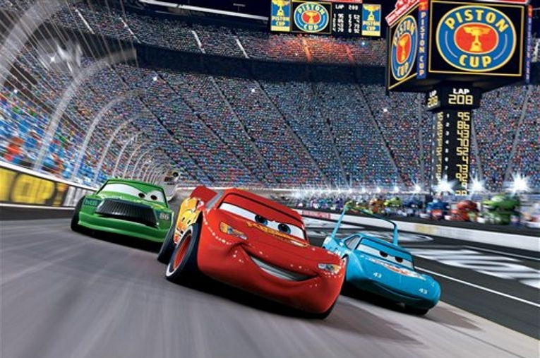 Cars Fototaart