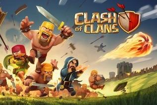 Clash of Clans fototaart