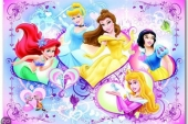 Disney Princess Fototaart
