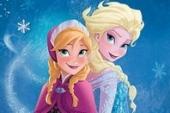 Frozen Elsa en Anna Fototaart