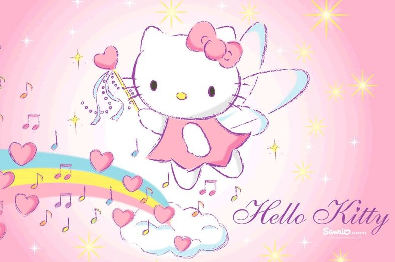 Hello Kitty Fototaart