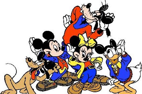 Mickey Mouse Fototaart