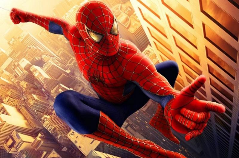 Spiderman Fototaart