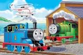 Thomas de trein Fototaart