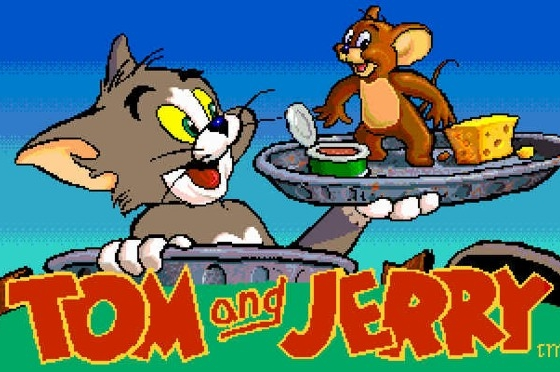 Tom en Jerry Fototaart