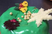 Cake tulband klein ongevuld