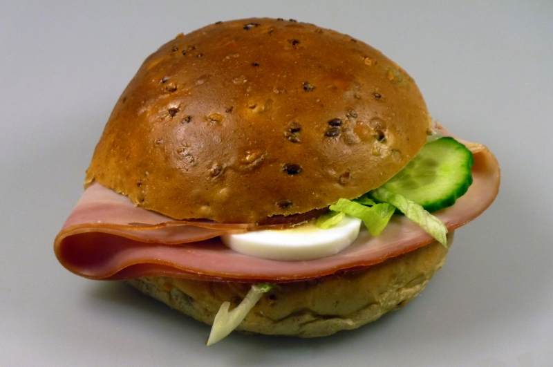 Luxe broodje achterham