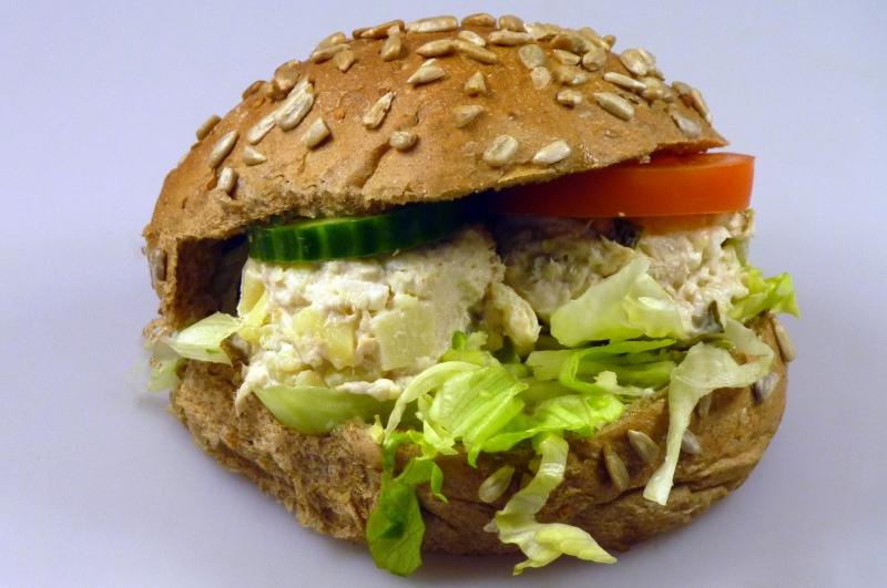 Broodje salade