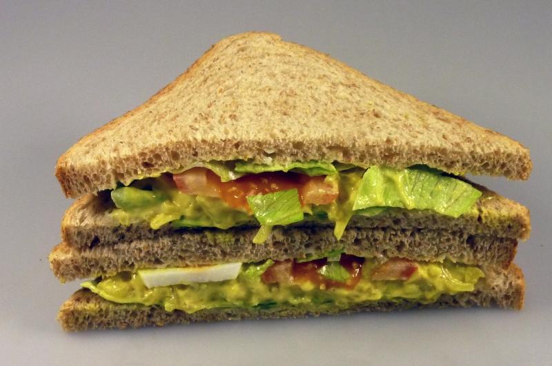 Sandwich kip-kerrie