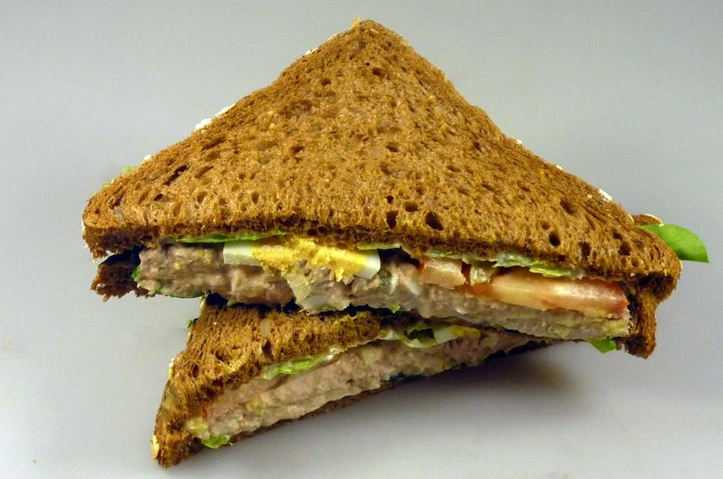 Sandwich tonijnsalade
