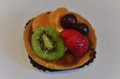 Vers fruit vlaaitje