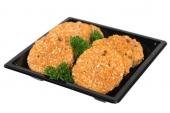 Gourmetbakje kalfsschnitzel