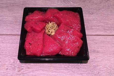 Gemarineerde biefstukreepjes (gourmet)
