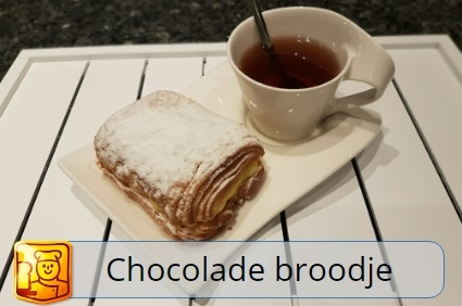 Chocolade roombroodje