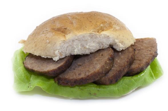 Broodje gebraden bal gehakt