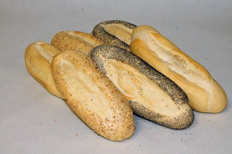 Hard broodje voorgebakken
