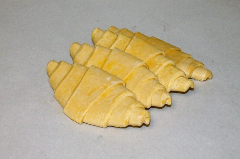 Croissant bake up