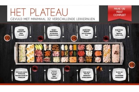 Het Plateau (incl. € 40,- borg)