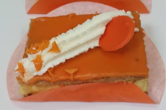 Oranje tompouce