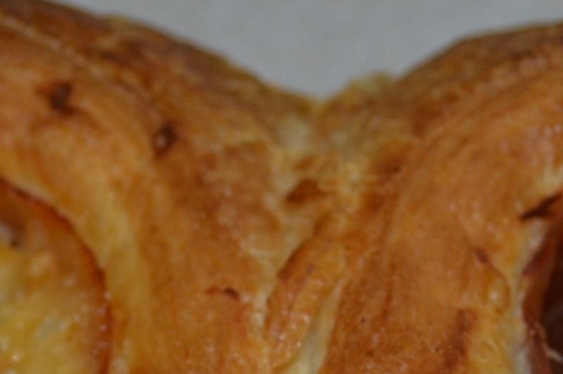 Ham/Kaas Croissant Vlinder _Tarwe Wit